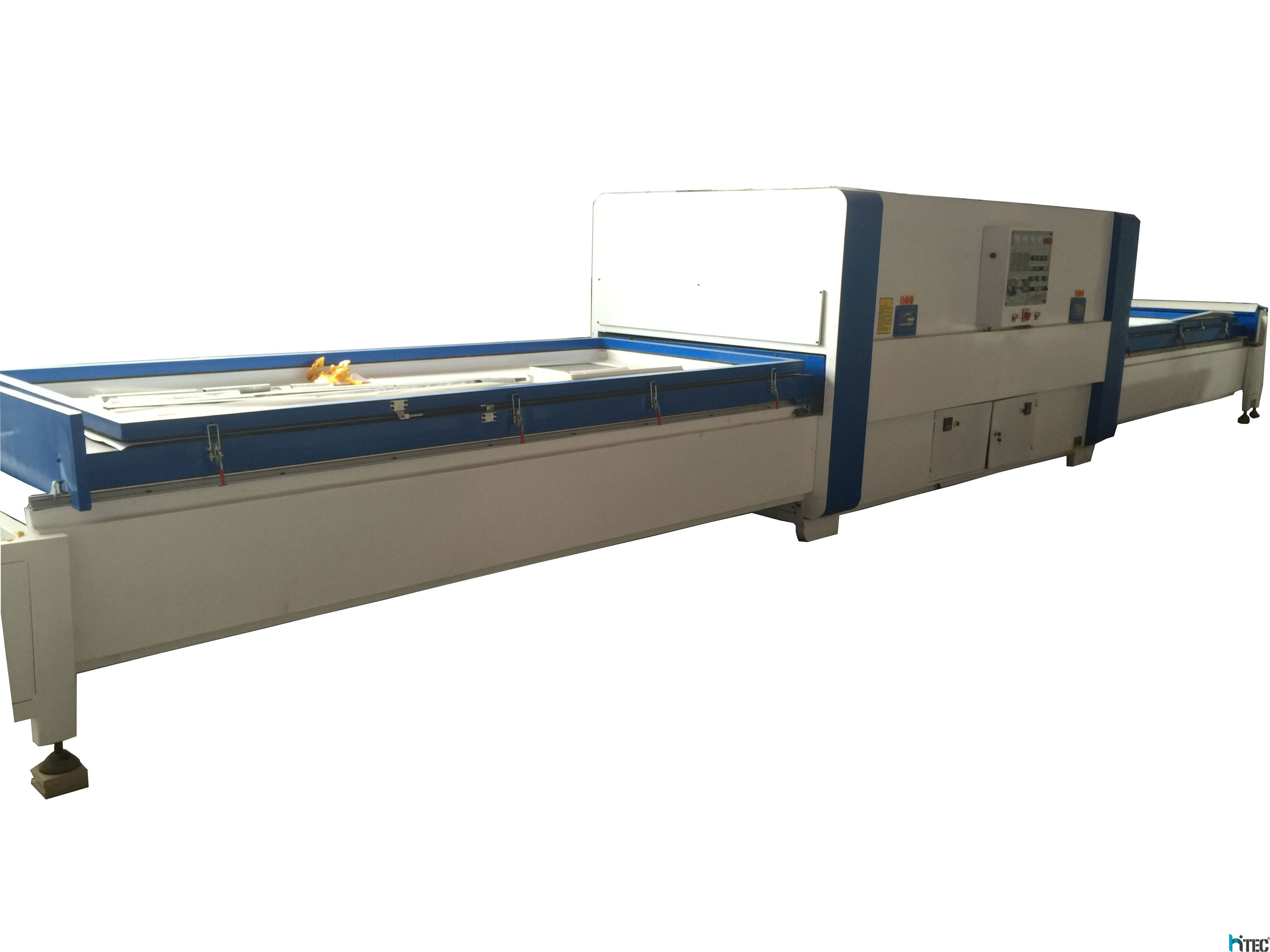 Automatic Pvc film vacuum membrane press machine for wood door