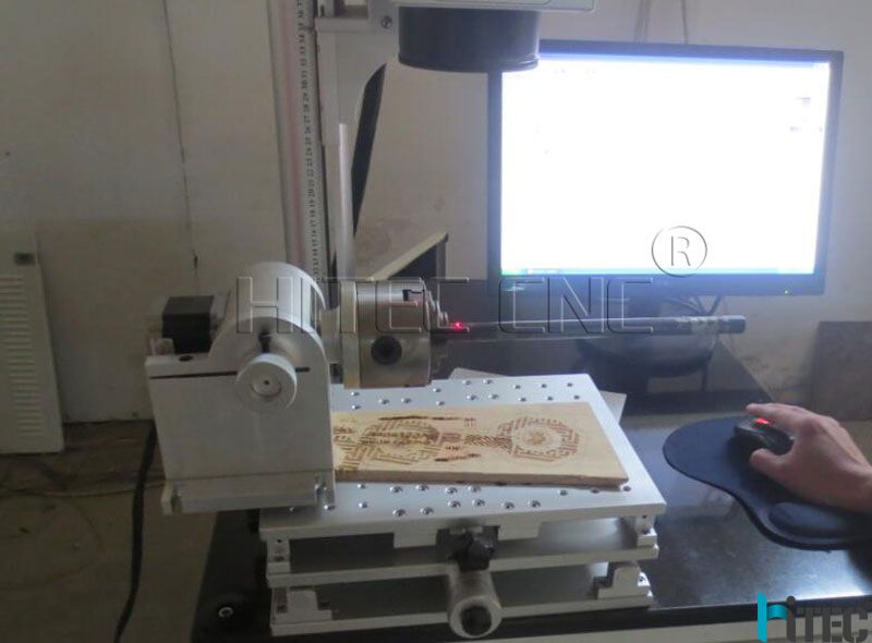 laser marking rotary