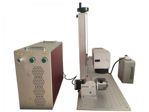 laser engraving machine,20w color fiber laser marking machine
