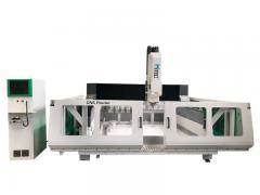 cnc stone/marble cutting and polishing machine
