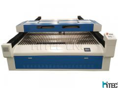 china laser cutting machine with metal and nometal cutting head