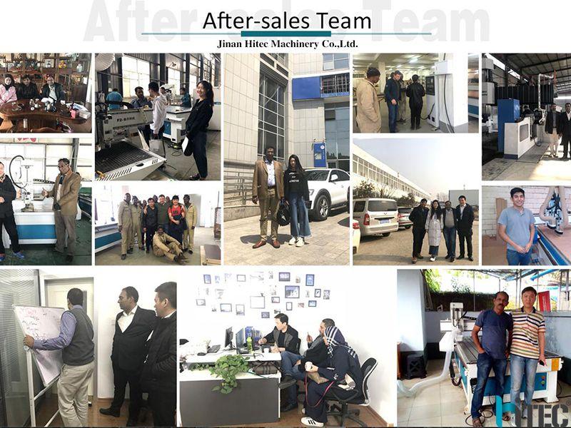 hitec cnc after sales service