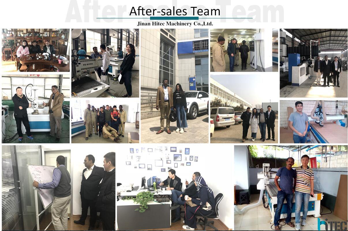 hitec cnc after sales team