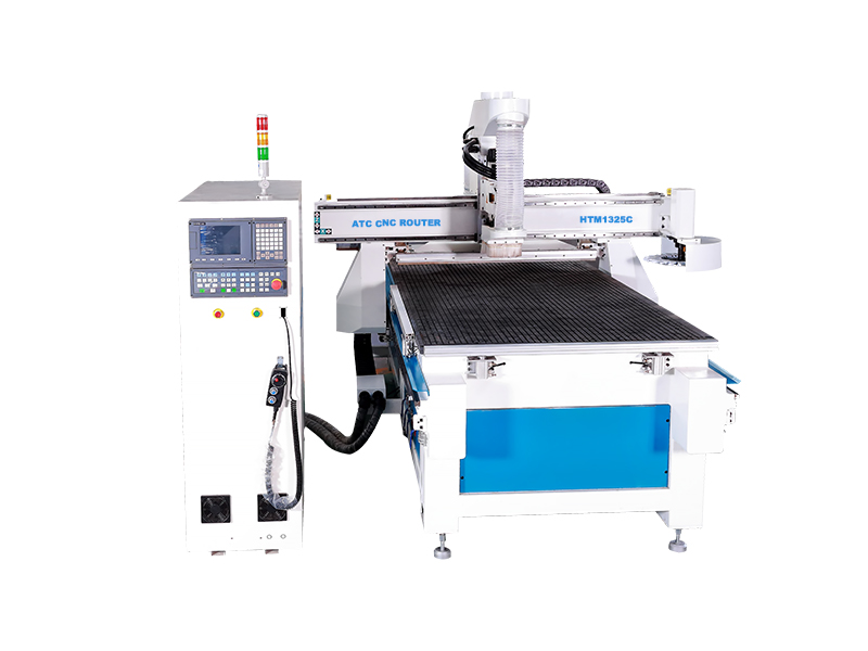 Hitec 1325 atc cnc router for woodworking cabinet door