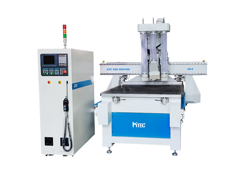 High quality atc wood carving cnc router with drlling hole systerm