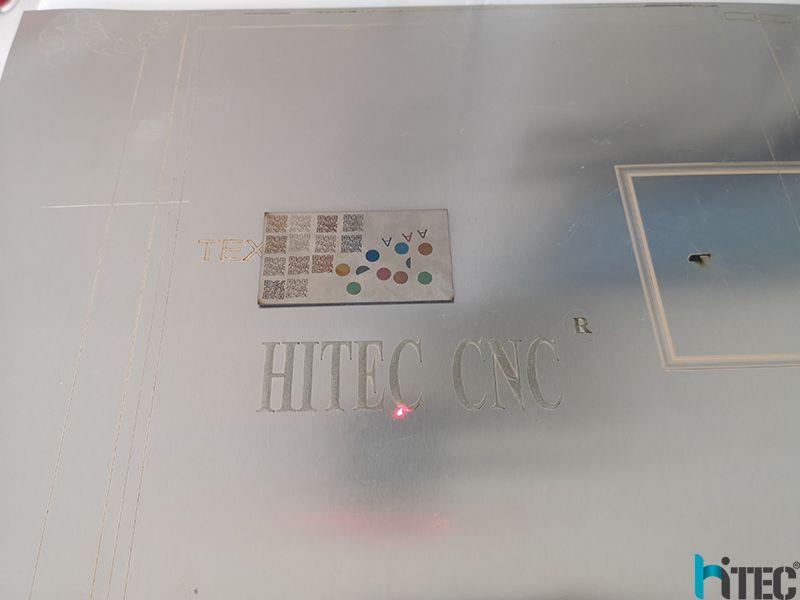 mopa laser marking machine samples