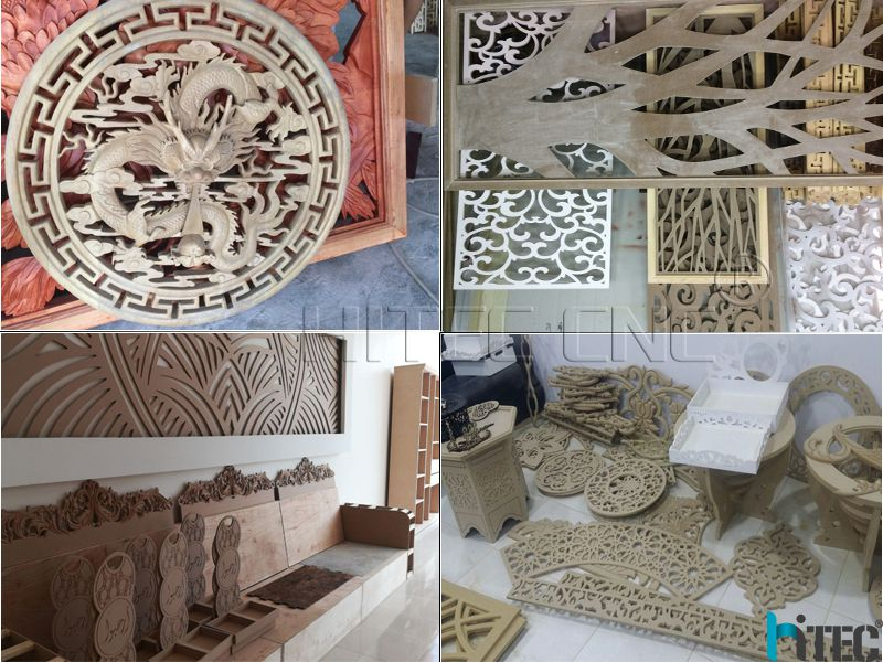 wood cnc router samples