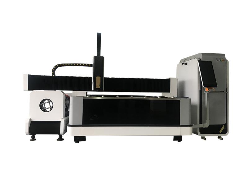 Metal tube fiber laser cutting machine price