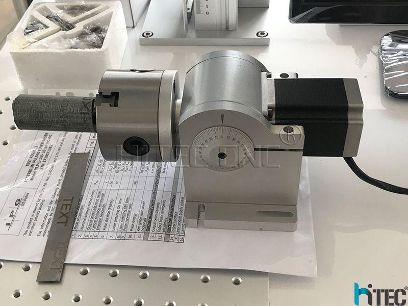 laser marking rotary