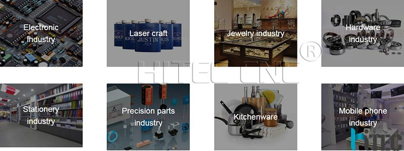 fiber laser marking machine application