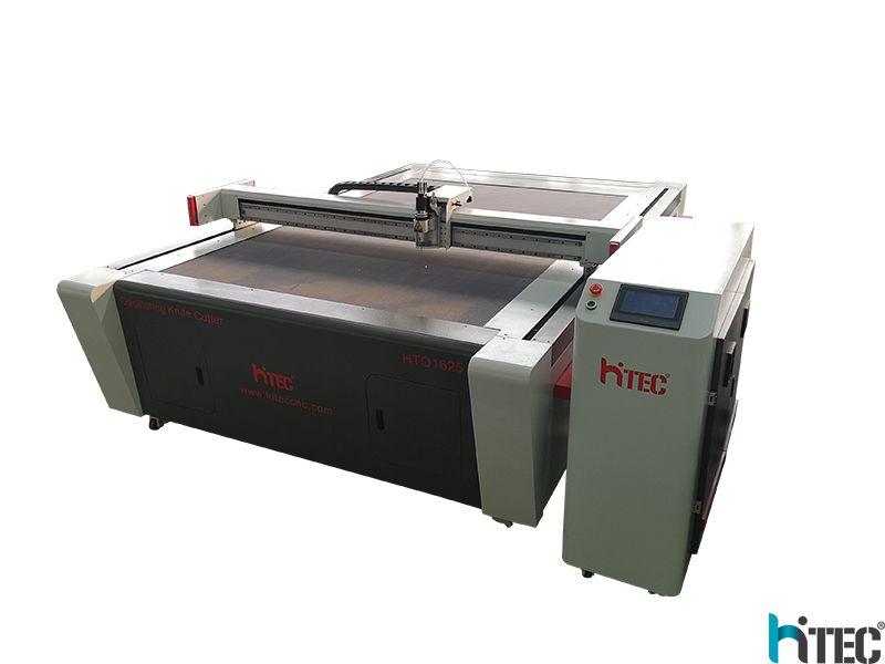 china cnc oscillating knife cutting machine