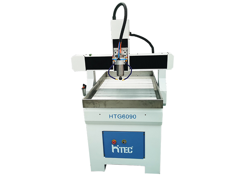 Small Hobby CNC Router 6090 Cutting Aluminum