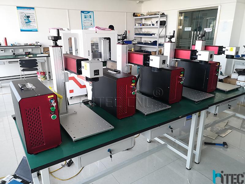 protable mini fiber laser marking machine