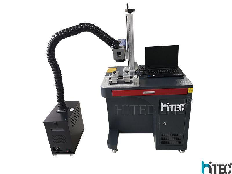 50W 60w Fiber Laser Marking Machine Deep Engraving On Metal