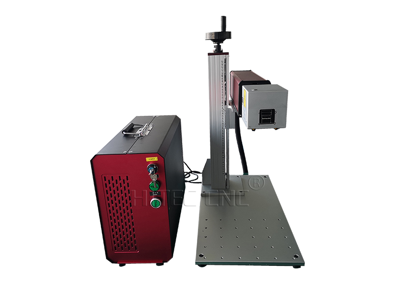 30w 50w mini deep metal engraving laser marking machine