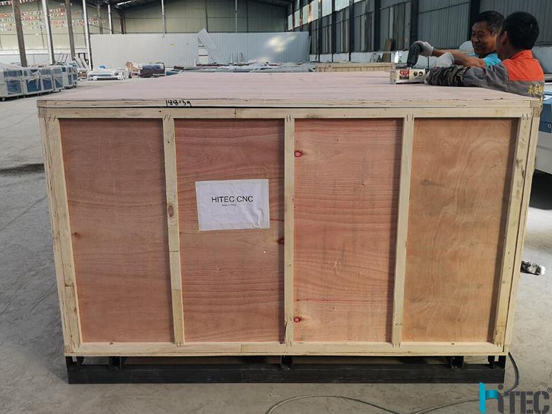 wood package laser machine
