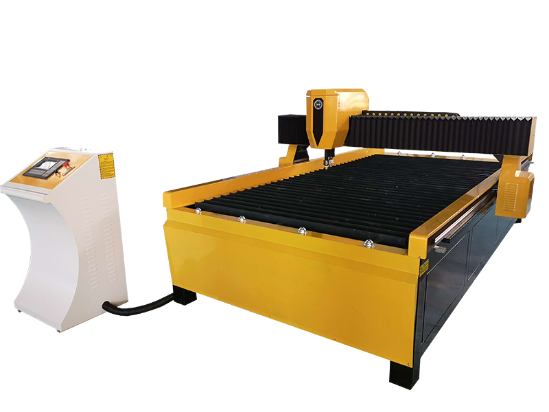 CNC plasma cutting machaine/ plasma cutter with 100A for 8 mm carbon steel