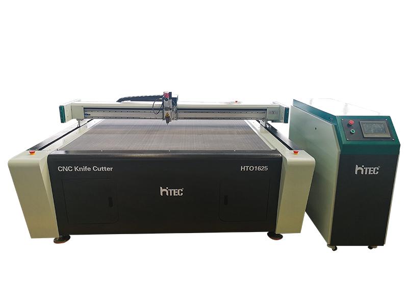 CNC Oscillating knife cutting machine cut Evafoam, Polyester Fiber