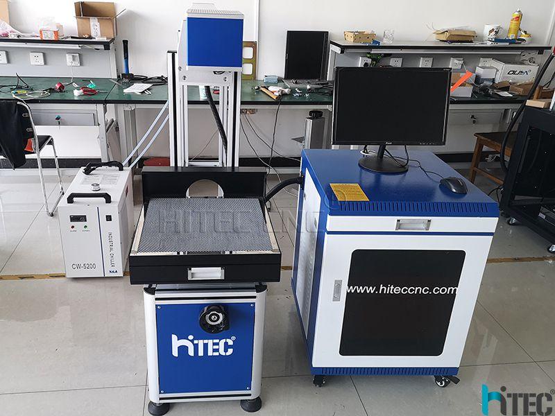 Laser Leather marking machine