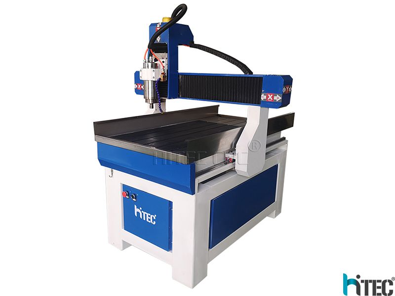 Small mini Advertising CNC Router 6090 with 4th Rotary Axis for aluminum, wood, MDF