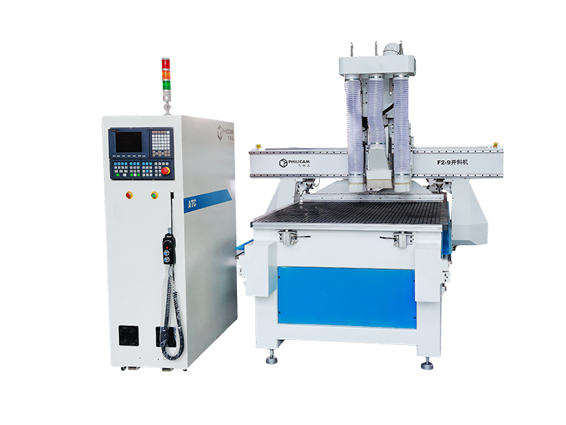 Three spindles panel furniture cnc wood router machine with horizontale drilling system