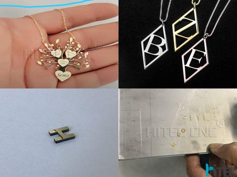 gold sliver fiber laser cutter machine