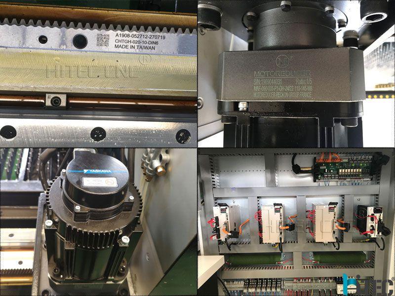 fiber laser cutter machine parts