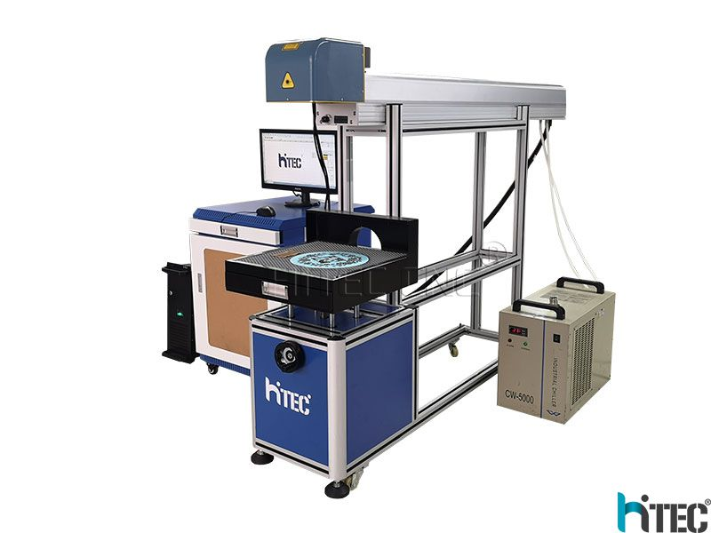 Co2 laser marking machine for paper cutting