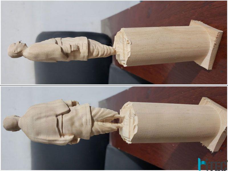 4axis cnc wood lathe