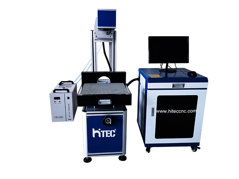 china jinan manufacturer coconut co2 laser marking machine for sale