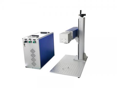 20w 30w fiber laser engraving machine for color marking