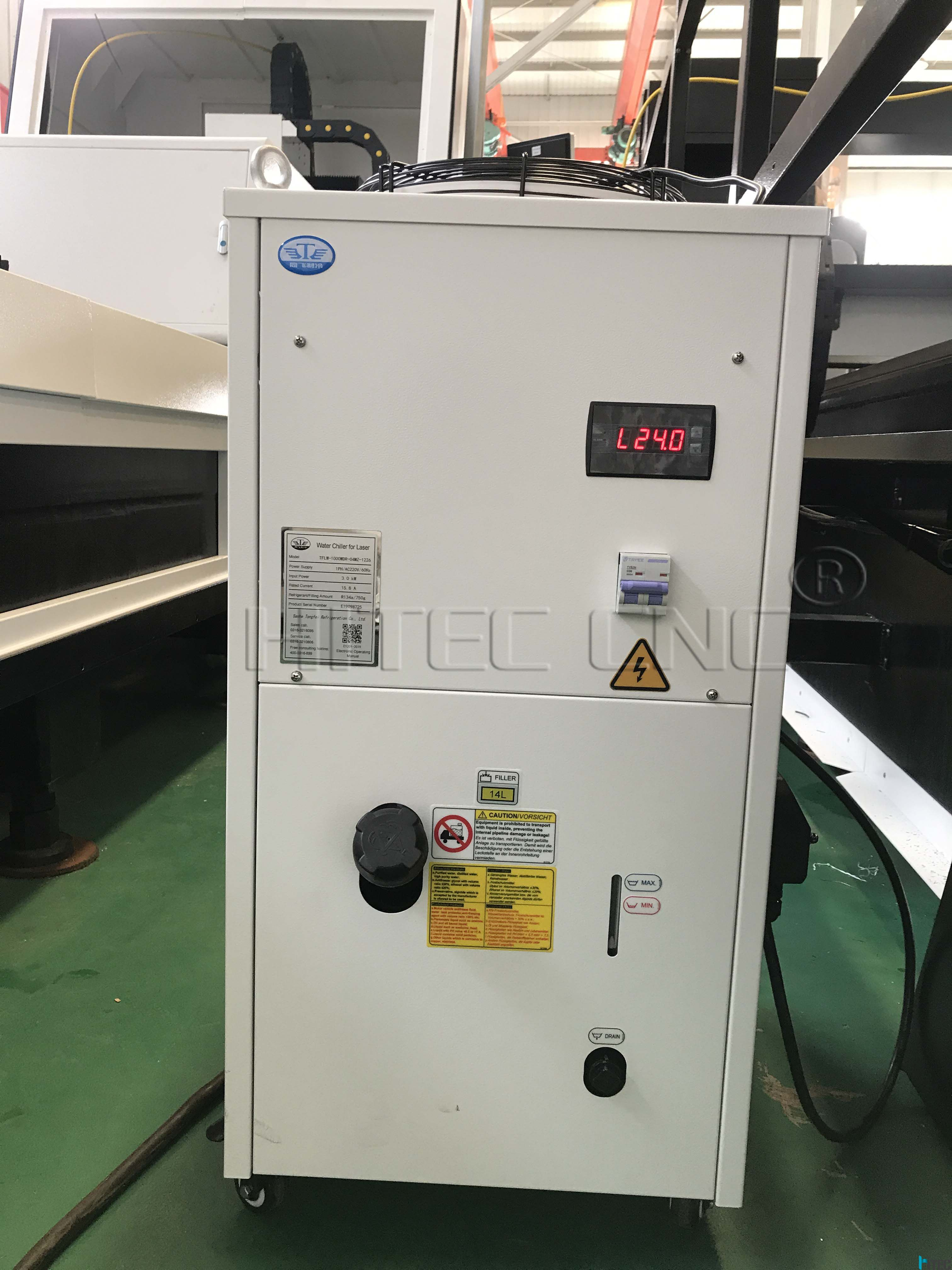 tongfei water chiller cooling system