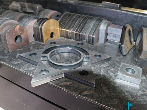 HTF3015GA cnc fiber laser cutting machine