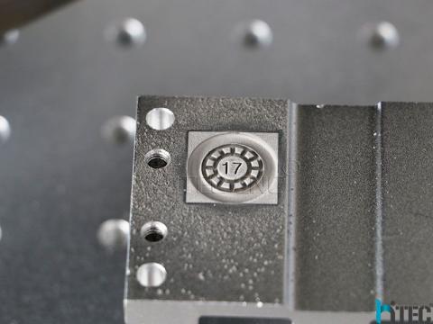 Deep engraving of metals