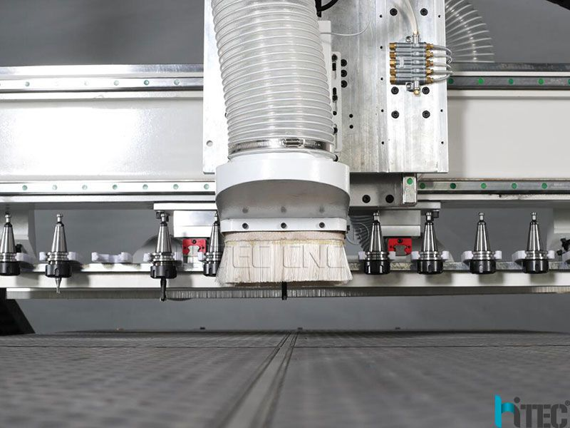 linear automatic tools changer