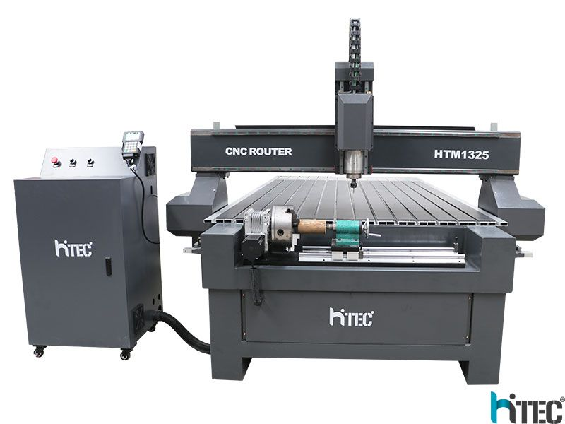 cnc router with rotary table
