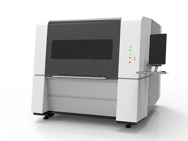 Small Fiber Laser Cutting Machine For Gold Sliver metal cutting