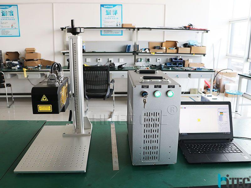 100w color laser marking machine