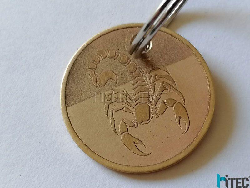3d relief deep metal engraving