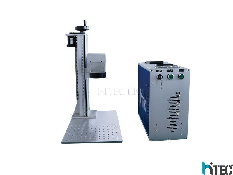 2.5D Mopa Jpt 50w fiber laser marking machine for 3D Relief engraving metal with Ezcad3