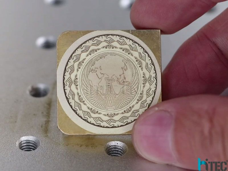Professional copper mould deep engraving