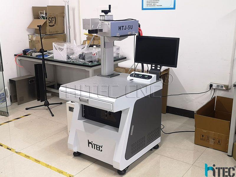 5W UV Laser Marking Machine For Metal Plastic Glass